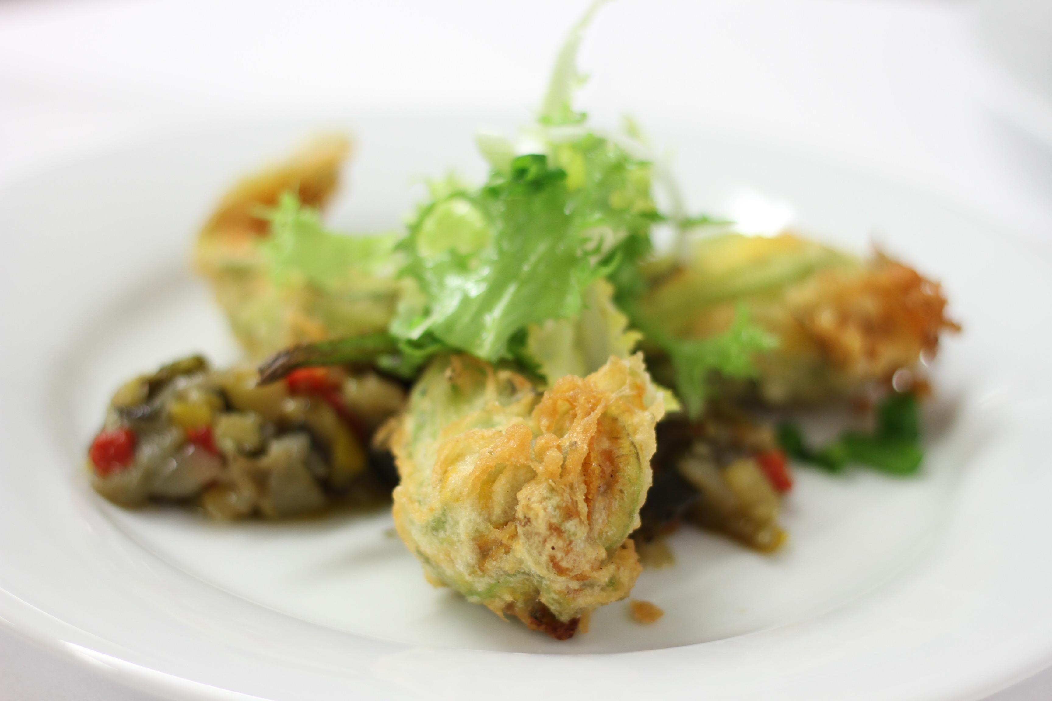 Draguignan la brasserie bertin de benjamin collombat - Beignets de fleurs de courgettes ...
