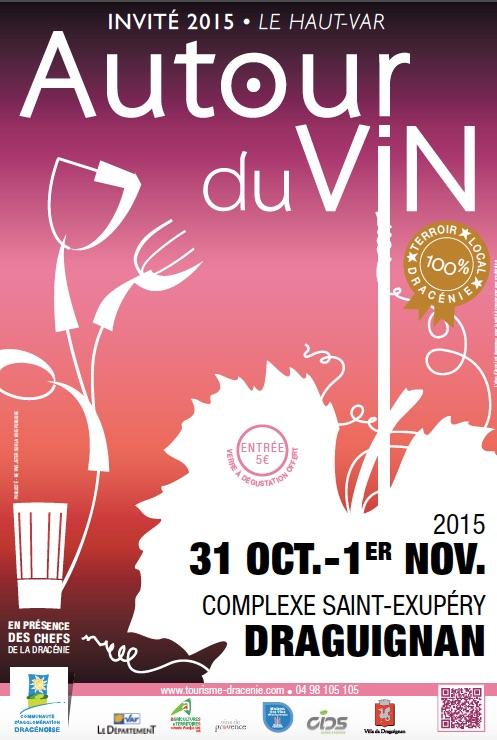 Draguignan salon autour du vin 2015 for Salon du vin nice