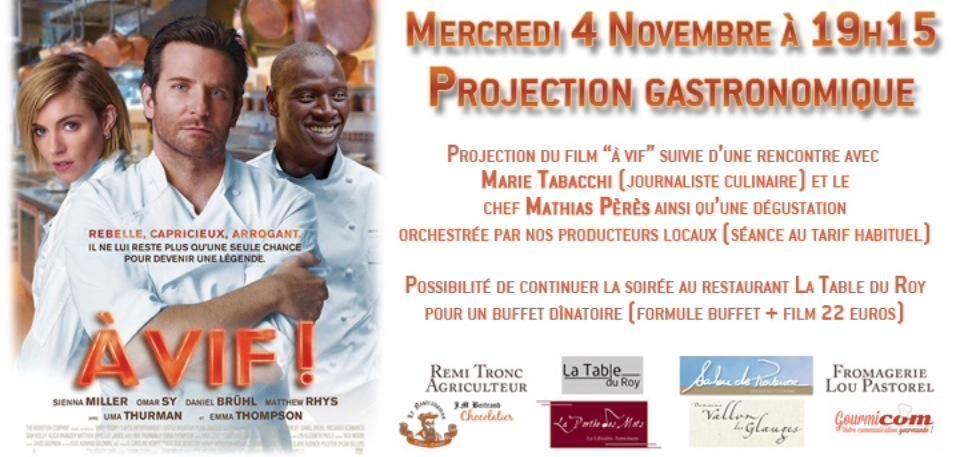 Salon de provence soir e gastronomique a vif - Restaurant la table des roy ...