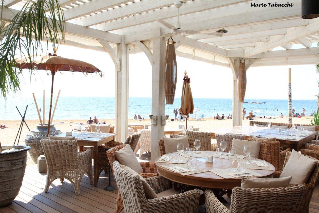 La londe l 39 hemingway restaurant de plage l 39 argenti re - Restaurant port de saint laurent du var ...